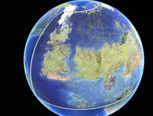 Westeros and Essos Globe